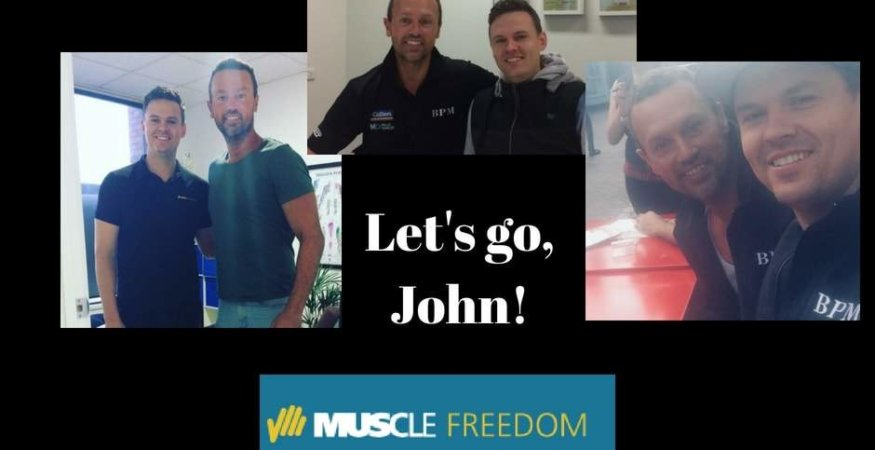 John van Wisse and Muscle Freedom